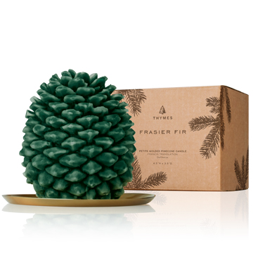 Pinecone Candle
